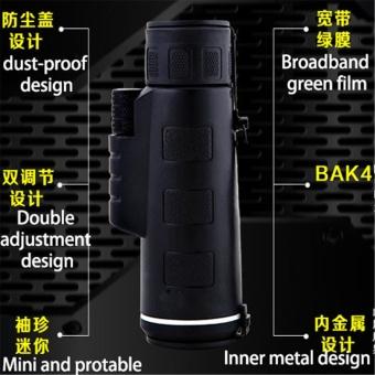 SUNCORE Waterproof HD 35x50 Monocular Telescope with TripodInterface SEND FREE Phone Clip - intl - 5