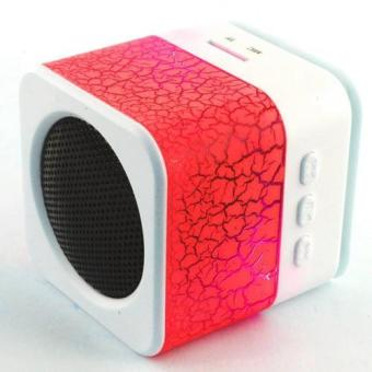 Sunsonic Mini LED Bluetooth Speaker (Red) Price Philippines