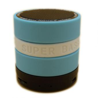 Super Bass Portable Speaker (Blue) - 2