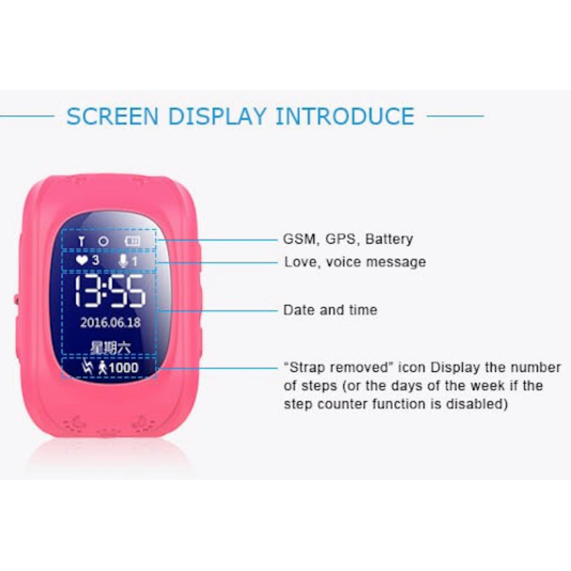... SUPER SALE: Q50 Smart Watch for Kids Anti-lost GPS Tracker Watch SOS Call ...