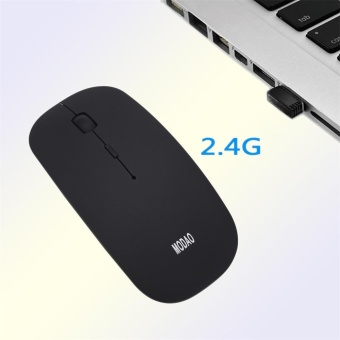 Super Slim Rechargeable 2.4G Wireless Mouse For PC And Laptop AndAndroid - intl - 4