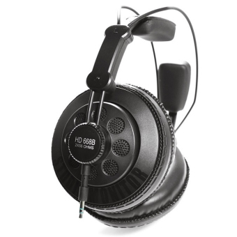 Superlux HD668B Semi-open Dynamic Professional Studio MonitoringHeadphones (Black)