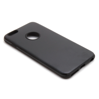 Swisstech Rubber Metal Case for iPhone 6 Plus (Black)