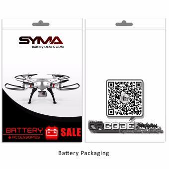 Syma 500mAh Li-Po Battery Replacment for Syma X5UC(White) - 5