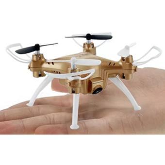 Syma X52C Nano Quadcopter with 2MP 720P HD Camera (Gold) - 2