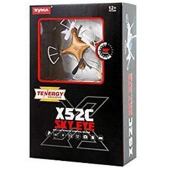 Syma X52C Nano Quadcopter with 2MP 720P HD Camera (Gold) - 5