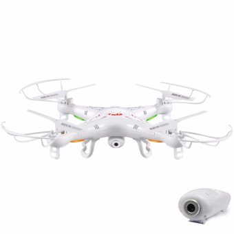 Syma X5C-1 2.4 GHz Gyro RC Quadcopter Drone With Camera (White)