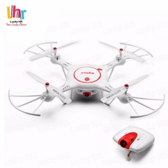 Syma X5UC 2MP HD Camera 2.4GHz 4 CH 6-Axis Gyro Headless Mode Quadcopter Drone (White)
