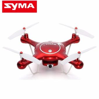 SYMA X5UW 720P WIFI FPV With 2MP HD Camera With Altitude Mode RCQuadcopter (Red)