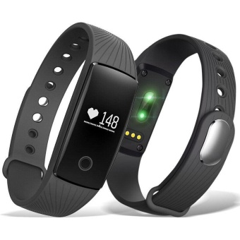 Sywell ID107 Heart Rate Wristband Smart Watch Sports Fitness BT4.0- intl - 2
