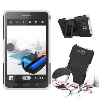 Tab A 7.0 Inches Back Case 2in1 Combo Hybrid Rugged Heavy DutyArmor Hard Cover Case with kickstand for Samsung Galaxy Tab A 7.0Inches (2016) SM-T280 / T285 - intl - 2