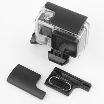 TaisionMY Plastic GoPro Snap Latch Go Pro Backdoor Clip Lock Bucklefor GoPro Hero 3+ 4 Camera Waterproof Housing Case - intl