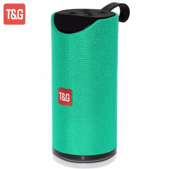 T&G TG113 Super Bass Wireless Bluetooth Speaker (Turquoise) - 2