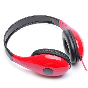 Techno Tamashi TH-470 Stereo Headphones (Red)
