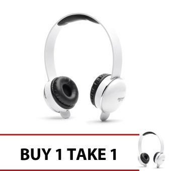 Techno Tamashi TH-T2 Over-the-Headphones (White) Buy 1 Get 1