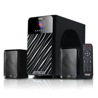 Techno Tamashi V-2865 Aquamarine 2.1 Multimedia Speaker System withBluetooth