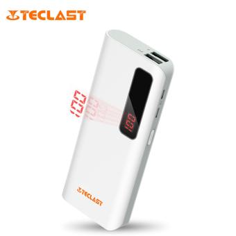 TECLAST T100CE 10000mAh Power Bank with Dual Input Dual Outputs(White)