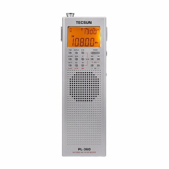 TECSUN PL-360 Radio DSP Radio FM MW SW LW Radio Receiver MultibandRadio Portable +External AM Antenna + Outdoor Antenna - black - 5