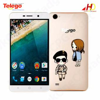 Telego Mobile WISE 3 Android 6.0 1GB+8GB 5.5 IPS Display 3G Dual SIM (Sun) w/ FREE Jelly Case