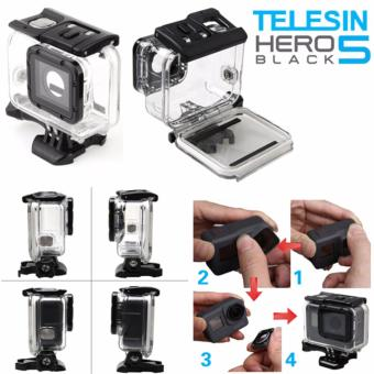 Telesin 45M GoPro Hero 5 Action Camera Super Suit UnderwaterWaterproof case (need to remove camera lens)