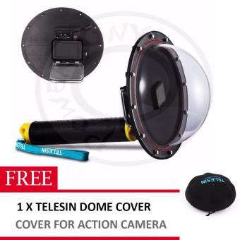 TELESIN DOME FOR HERO 5 W/ FREE TELESIN DOME COVER Price Philippines