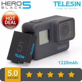 TELESIN Gopro hero 5 camera battery pack 1220MAH GP-BTR-501