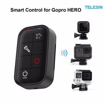 TELESIN Waterproof Smart WIFI Remote Control Set Camera Controllerwith Charging Cable and Wrist Strap for GoPro Hero 5 Hero 4 Hero 3GoPro Hero 5 4 Session WIFI Remote Accessory Kit