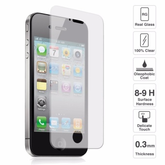 Tempered Glass for iPhone 4 4S Screen Protector Guard 9H