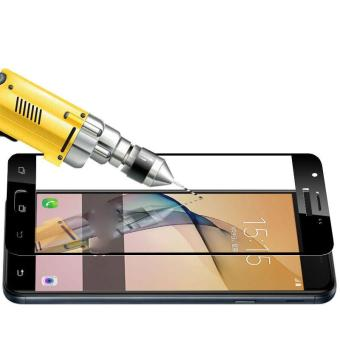 Tempered Glass Full Screen Protector HD For Oppo A37 (Black)
