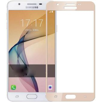 Tempered Glass Full Screen Protector HD For Samsung Galaxy A7(2017) (Gold)