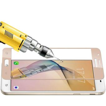 Tempered Glass Full Screen Protector HD For Samsung Galaxy J2 Prime(Gold) - 2