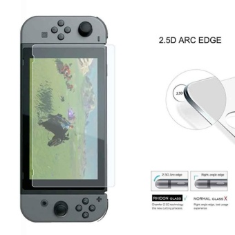 Tempered Glass Screen Protector Film Guard Shield for NintendoSwitch - intl - 5