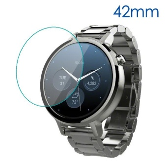 Tempered Glass Screen Protector for Motorola Moto 360 42mm (2nd gen) - intl Price Philippines