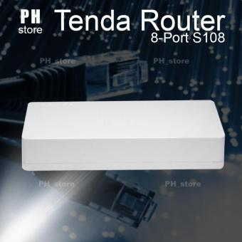 Tenda 100Mbps 8 Ports Router (White)