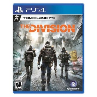 THE DIVISION PS4 GAME R3,R1 MINT CONDITION