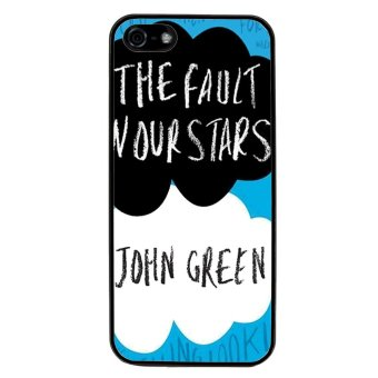 The Fault In Our Stars Pattern Phone Case for iPhone 5C (Black)