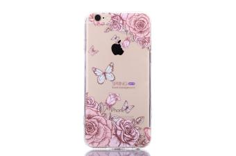The New Apple 5/5s Mobile Phone IPhone 5/5s Mobile Phone Shell Painted Butterfly Acrylic Anti Fall Protective Sleeve - intl