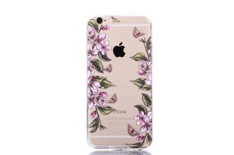 The New Apple 6 Plus / 6s Plus Mobile Phone IPhone 6 Plus / 6s PlusMobile Phone Shell Painted Butterfly Acrylic Anti Fall ProtectiveSleeve - intl