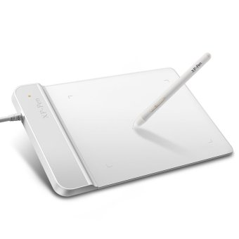 The XP-Pen(R)G430 4 x 3 inch Ultrathin Graphic Drawing Tablet for Game OSU and Battery-free stylus- designed Gameplay(White)