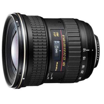 Tokina AF 12-24mm f/4 f4 AT-X 124 AF PRO DX II (Canon) Black