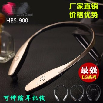 Tone HBS-900 Wireless Bluetooth Stereo Headset (Gold) Price Philippines