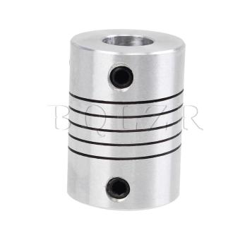 Top Tight Motor Shaft Coupler Coupling Silvery