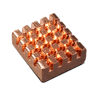 Toprank 8 pcs Copper Memory Heat Sink (Gold)