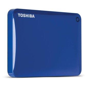 Toshiba Canvio Connect II V8 1TB USB 3.0 Portable Hard Drive(Liquid Blue) - 2
