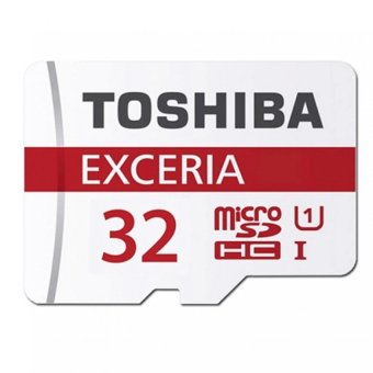 Toshiba Exceria 32GB Class 10 48MB/s Micro SD Memory Card (White)