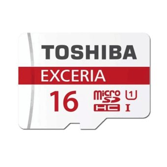 Toshiba Exceria Micro SD Class 10 UHS-1 48MB/s 16GB with Adapter(White)
