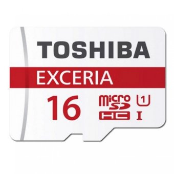 Toshiba Exceria Micro SD Memory Card Class 10 48MB/s 16GB (White)