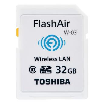 Toshiba FlashAir III Wireless 32GB SDHC Memory Card