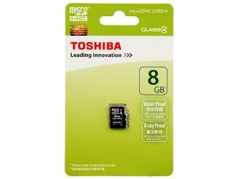 Toshiba MicroSDHC Card Class 4 8GB