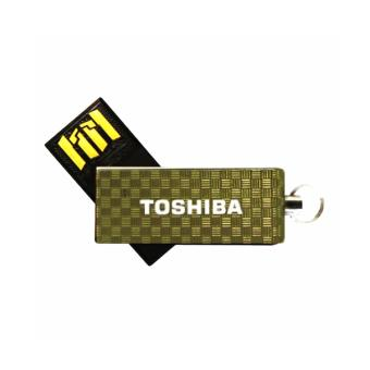 Toshiba Mini 360 USB Flash Drive 32GB (Gold)